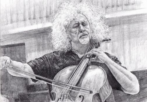 Cellist Mischa Maisky by KingVahagn