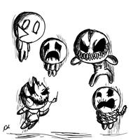 Monster Sketches by Daniel-SG