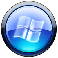 WMP icon with glass flag by Rhidus