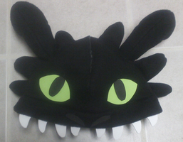 Toothless Hat by Tez-Taylor