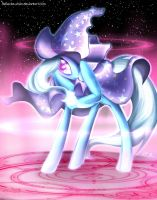 The Great and Powerful Trixie by Rebecka-chan