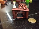 Hobbit fireplace modeling clay by kittycatty-x