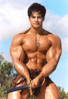 Barbarian Muscle by Stonepiler
