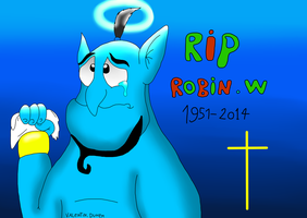RIP Robin Williams 21 July 1951 -  11 August 2014 by valentinfrench