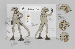 Arr-Mun-Ka reference by Paperiapina