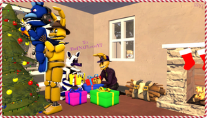 (SFM/Christmas Gift/Special) Ready for Christmas by Fazband83