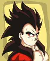vegeta ssj4 by cougermiau