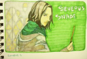 snape by lilithran