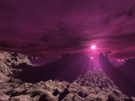 Purple Sky by Lairis77