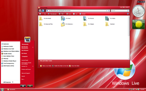 New XP Live Red by sagorpirbd