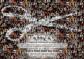 Trimmers Print AD by imrantshah