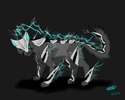 lightning/steel type fakemon by ninjakensei