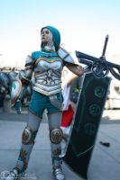 Redeemed Riven Cosplay 2 by OneShotArtist