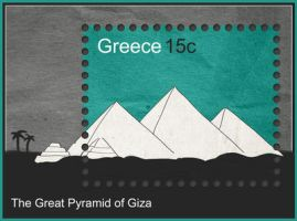 The Great Pyramid of Giza by InterGrapher