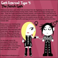 Goth Type 4: The Fetish Goth by Trellia