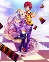 No Game No Life by bitter--coffee