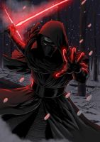 Star Wars - The Force Awakens - Kylo Ren by Hitokirisan