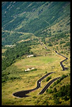The Road to Andorra by malanski