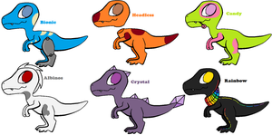 [open][adoptables]Dinos by Abdonis