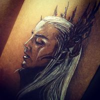 Lee Pace as Thranduil by SparklingR