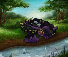 Commission: Sleepy Time by SilverSugar