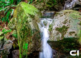 Mourne Mountains Small Waterfall by Craig-PhotoWork