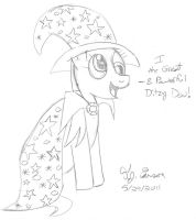 GREAT AND POWERFUL DITZY DOO by toonboy92484