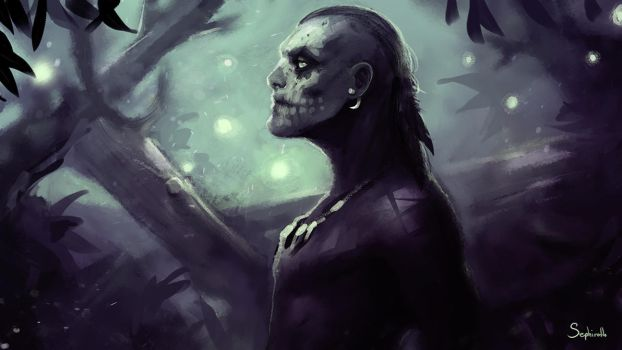 Skull Man by Sephiroth-Art