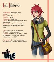Jun Ichinose by Misuzee