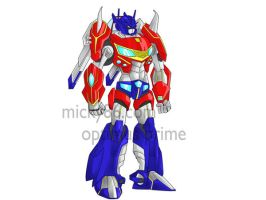 optimus prime redesign by micky86