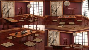 Japan Room Style by Almirith7