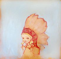 White Indian by AngryBird