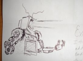 Robot thing by ScratchedCanvas