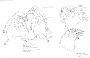 Rat men concepts by DanNortonArt