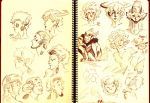 Fauns studies by thereina