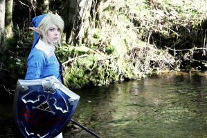 Blue Link - Twilight Princess edition by Geleebelly