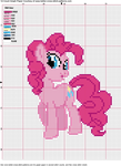 Pinkie Pie Cross Stitch Pattern by AgentLiri