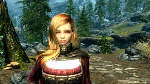 Chloe Grace Moretz in Skyrim by EagleRaptor1522