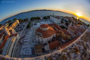 Zadar at 8mm II by ivancoric