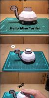 Mine Turtle Papercraft by StormL