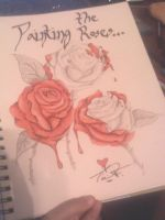 Painting the Roses... by Decenda
