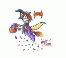 Trick Or Treat 8D XD by silvah-princess