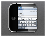 iPhone4 SMS HD by nardoxic