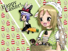 Happy Easter and Happy Birthday Pia-chan by FoFoStyle