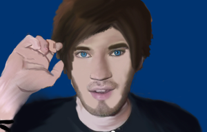 My Pewdiepie Sketch by BlondieAu
