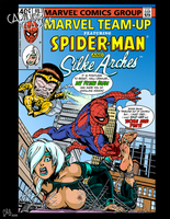 C.A.B.ified Classics ~ Spider-Man and Silke Arches by CeeAyBee
