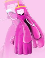 Princess Bubblegum by miphi017