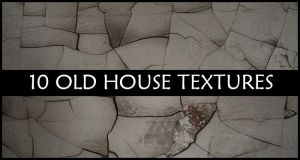10 Old House Textures by iconmaker91
