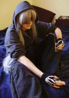 Painting the Toeses Black- UT by pervyyaoifancier