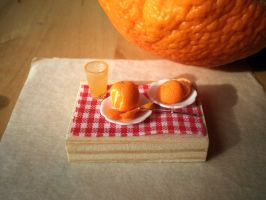 Miniature Orange by vesssper